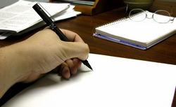 Writing my time away